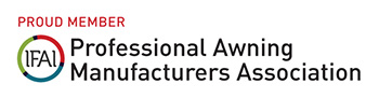 Proud Member Professional Awning Manufacturers Association (PAMA)